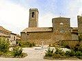 Plaça de l'Església de Santa Maria de de Castelldans - panoramio.jpg