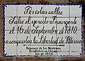Placa conmemorativa de la Independencia de México, Dolores Hidalgo.jpg