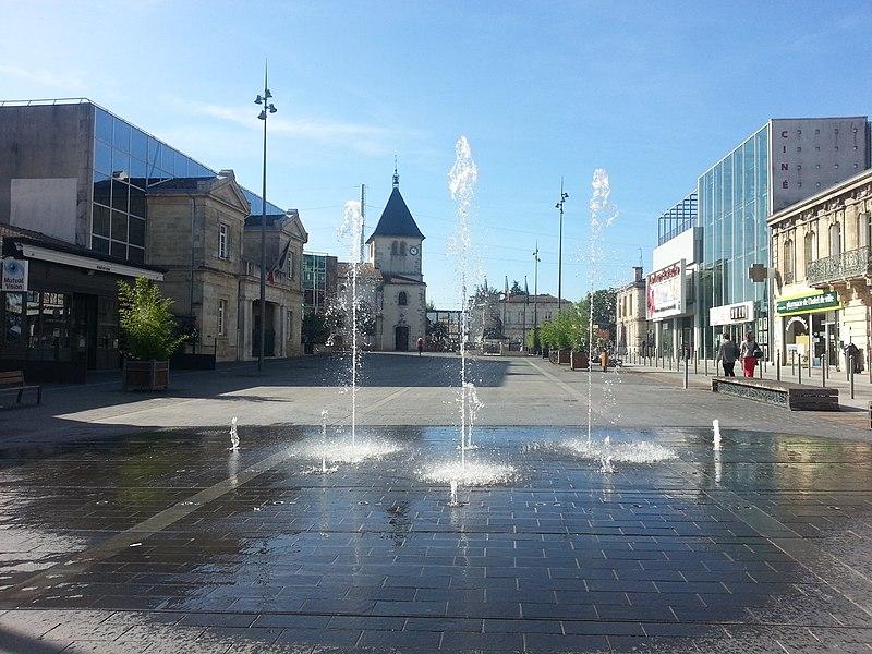 Place principale de Pessac