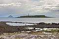 Pladda Island from Kildonan beach 1.jpg