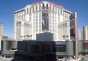 English: West side of the Planet Hollywood Res...