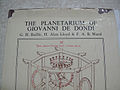 Planetarium of Giovanni de Dondi by Baillie Lloyd Ward 01.JPG