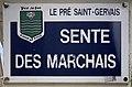 Plaque Sente Marchais - Le Pré-Saint-Gervais (FR93) - 2021-04-28 - 1.jpg
