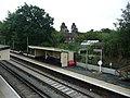 Platform 2 shelter at Liphook Railway Station in Liphook, Hampshire, England.jpg