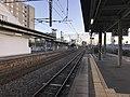 Platform of Kanda Station (Nippo Main Line) 2.jpg