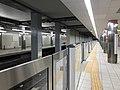 Platform of Noda-Hanshin Station.jpg