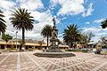 Plaza de armas, San Antonio de Ibarra, Ecuador, 2015-07-21, DD 15.JPG