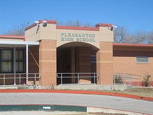 Pleasanton Independent School District - Pleasanton High School straddles multiple campus buildings.
