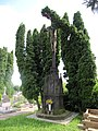 Polešovice, hřbitov, kříž.jpg