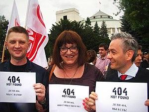 Children-404 - Image: Polish Sejm deputies for Deti 404