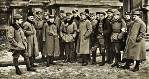 Polish Supreme Command of Lwów defence in 1918.PNG