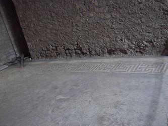 Pompeii House of the Small Fountain mosaic 2.jpg