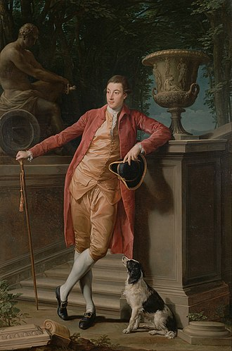 Pompeo Batoni - John Talbot, later 1st Earl Talbot, 1773, J. Paul Getty Museum, Los Angeles