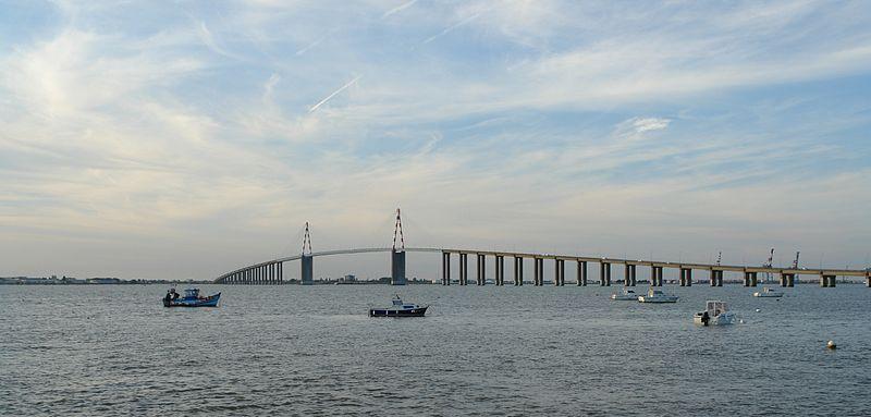 Fichier:Pont de Saint-Nazaire depuis St-Brévin 4.jpg