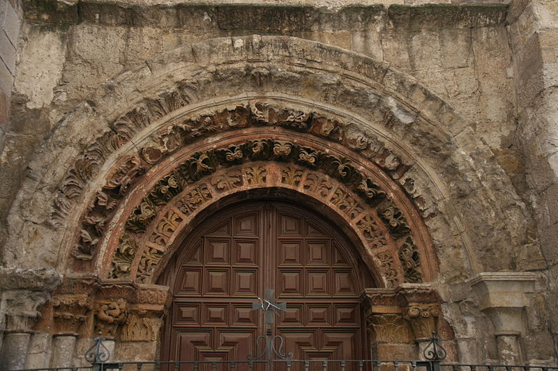 File:Portada de la Iglesia de San Vicente Mártir (Zamora).JPG