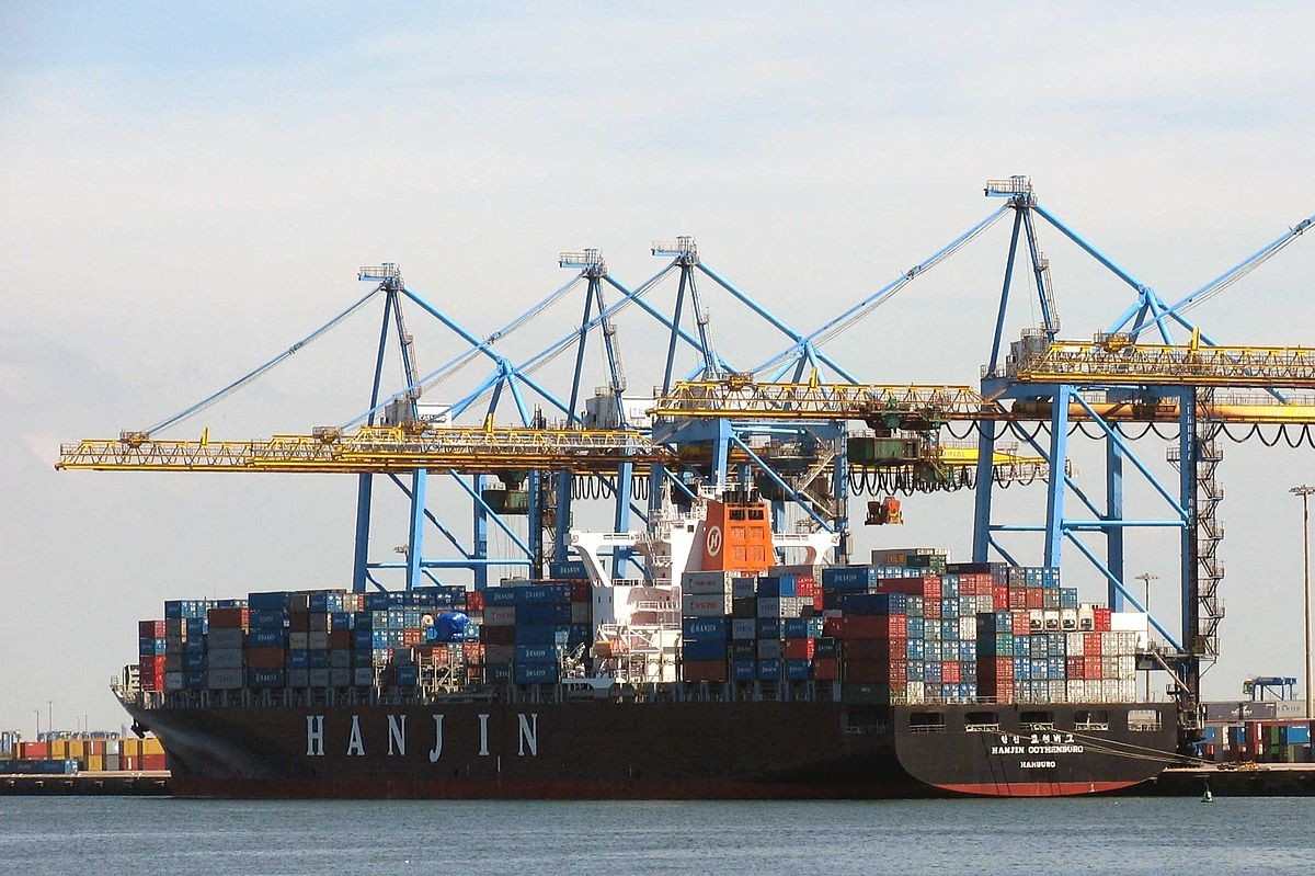 Grands ports mondiaux wikip dia for Conteneur economique