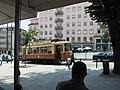 Porto, Praça D. Filipa de Lencastre, tram (2).jpg