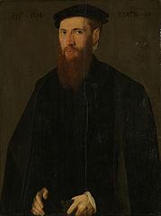 Portrait of Willem van Lokhorst (1514-64)