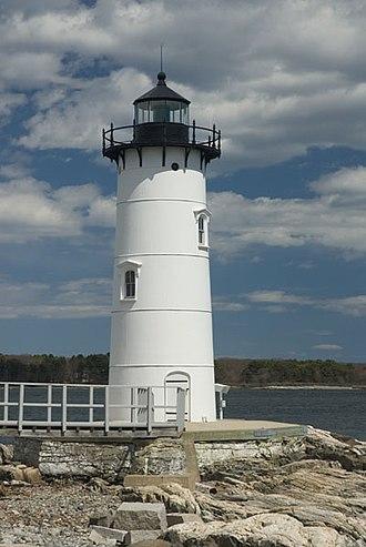 Portsmouth Harbor Light - Portsmouth Harbor Lighthouse