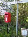 Post Box, Great Heath, North Elmham, 04 05 2010.JPG