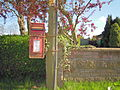 Post Box, The Street, Mileham, 04 05 2010.JPG