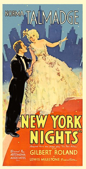 New York Nights - Theatrical poster