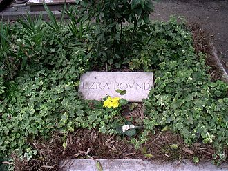 1972 in poetry - Grave of Ezra Pound