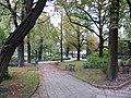 Poznań, ogród zoologiczny (stary), kon. XIX ---aleja05.JPG