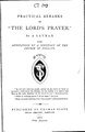 "Practical remarks on ""The Lord's Prayer"".pdf"