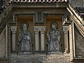 Prague-Smichov-St Gabriel Church-Saint Benedict and Saint Scholastica 1.jpg