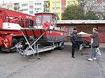 Praha, hasičská stanice Argentinská, lodě.jpg