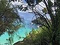 Praia do Sancho vista do mirante.jpg