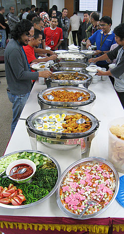 Masakan Indonesia Wikipedia Bahasa Indonesia