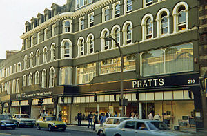 Streatham - Image: Pratts department store, Streatham in 1978