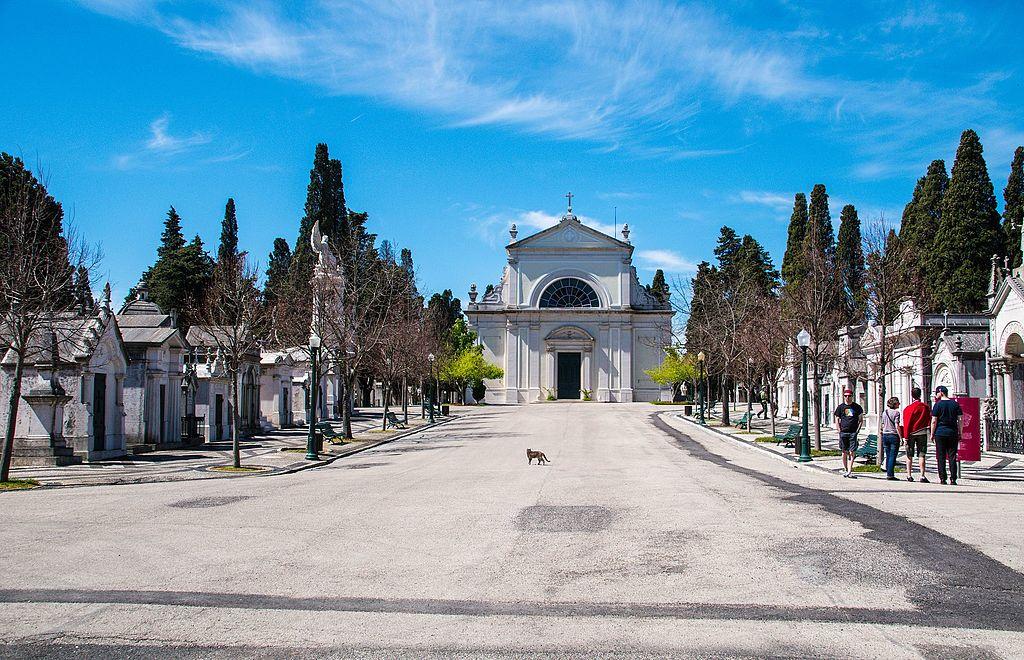Cimetière de Prazeres à Lisbonne - Photo de Maria Eklind