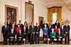 President Barack Obama with full cabinet 09-10-09.jpg