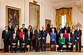 President Barack Obama with full cabinet 09-10-09.jpg