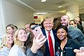 President Trump and the First Lady in Dayton, Ohio (48482817687).jpg