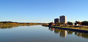 Prince Albert, Saskatchewan - Image: Prince Albert Saskatchewan in fall 01