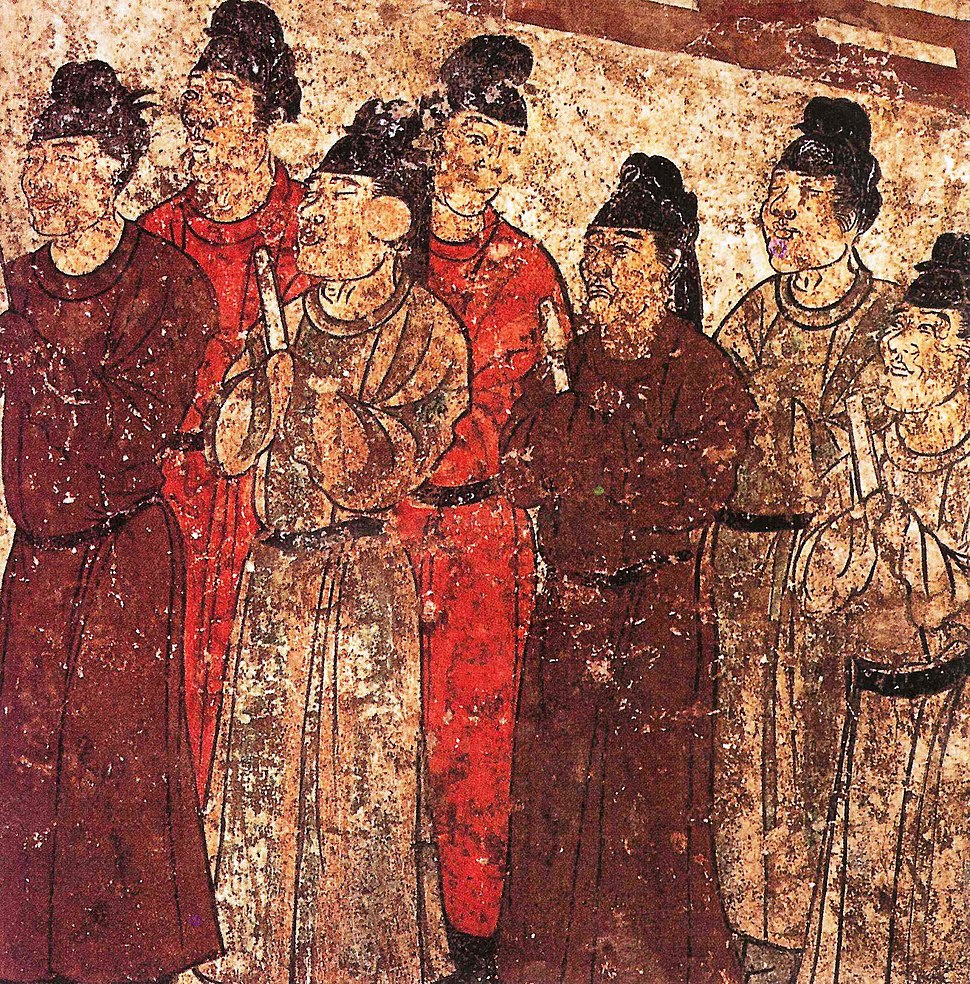 Prince Zhanghuai%27s tomb, eunuchs.JPG
