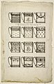 Print, Designs for Chocolate Cups, Plate 1 from 1st Cahier d'Ornemens et Fleurs, 1780–90 (CH 18420535).jpg