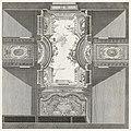 Print, Projet du Plafond d'une Maison seise rue de Rochouard (Design for Ceiling of the House of Francois Petit), plate 95, in Oeuvres de Juste-Aurèle Meissonnier (Works by Juste-Aurèle Meissonnier), (CH 18222709).jpg