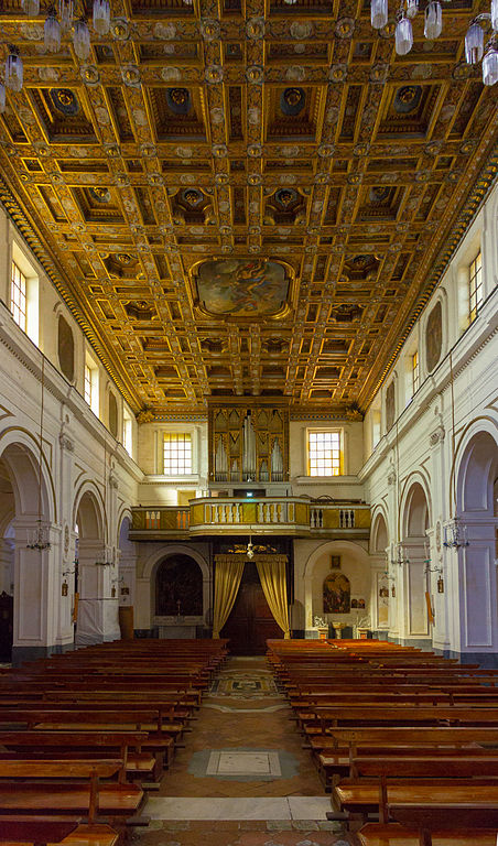 Abbaye de Saint Michel l'Archange sur l'île de Procida au large de Naples - Image: Matthias Süßen (matthias-suessen.de) Licence: license CC BY-SA