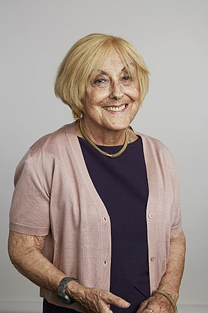 Lisa Jardine - Lisa Jardine in at the Royal Society admissions day in July 2015