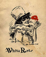 Program cover for the 16 March 1915 Masque Ball of the White Rats Actors' Union of America