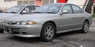 Proton Perdana (first generation) - Image: Proton Perdana V6 (front), Kuala Lumpur
