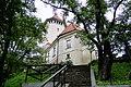 Pułtusk Zespół zamku biskupiego (Widok od strony parku).JPG