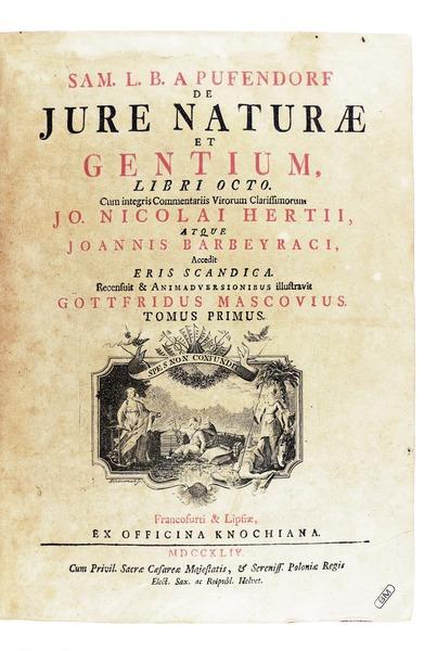 Pufendorf - De jure naturae et gentium, 1744 - 329
