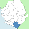Pujehun District Sierra Leone locator.png