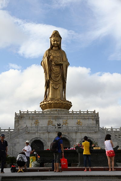 Fájl:Putuoshan South Sea Guanyin.JPG
